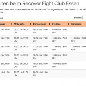 Plan-Trainingszeiten-Recover-Fight-Club-Essen