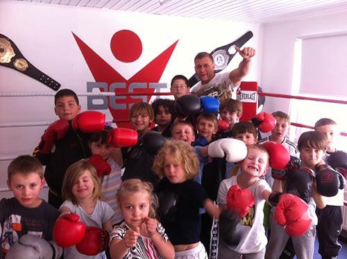 Sportschule Best Gym Bergisch Gladbach Kinderboxen