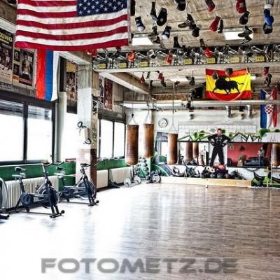Recover Fight Club Essen bietet viel Platz für das Training