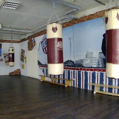 Trainingshalle beim Recover Fight Club in Neuss