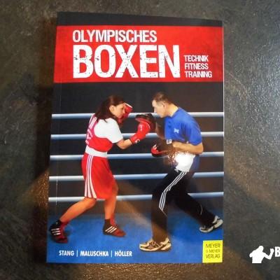 Das Cover des Buchs olympisches Boxen