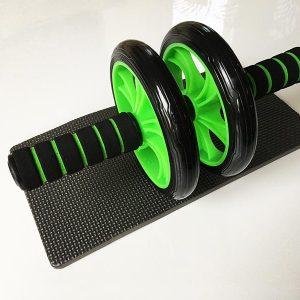 Bauchroller Test Sportastisch Extreme Ab Roller Bauchtrainer Knieauflage Gesamtansicht