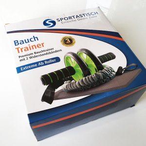 Bauchroller Test Sportastisch Extreme Ab Roller Bauchtrainer Verpackung Front