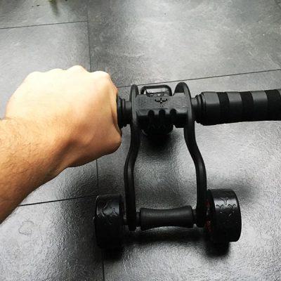 Bauchroller Test Sportastisch Profi Bauchtrainer 3-Wheeler Training