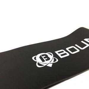Fitnessband Test Boundletics 3er Set Loop-Bands aus Naturkautschuk Schwarz Detailansicht
