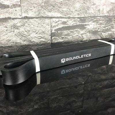 Fitnessband Test Boundletics schwarz 10 bis 30 kg GEsamtansicht ausgepackt