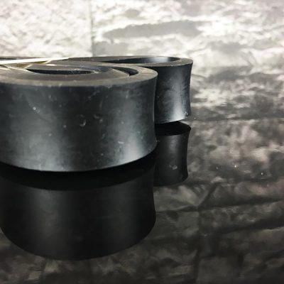 Fitnessband Test Boundletics schwarz 10 bis 30 kg seitliche Ansicht