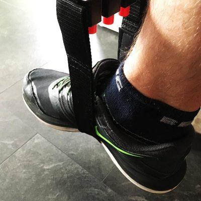 Klimmzugband Test Sportastisch Pull Hard Klimmzughilfe Fussschlaufe