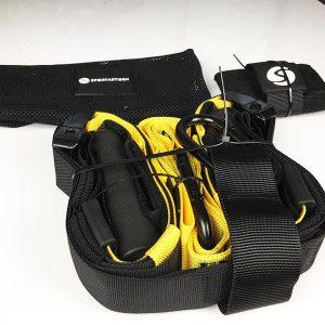 Schlingentrainer Test Sportastisch Sling Trainer Pro Gesamtansicht aller Inhalte