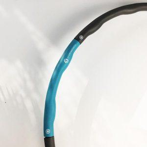 Hier siehst du die Verbindugnselemente der Hula Hoop Reifen