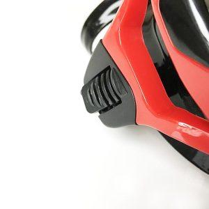 Taucherbrille Test Sportastisch Proswim Rot Verstellmechanismus