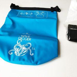 So sieht der Dry Bag in der Gesamtansicht aus