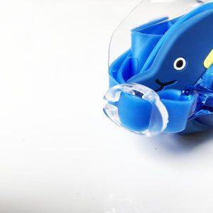 Kinder Schwimmbrille Test Swim Buddy Dolphin Verstellmechanismus