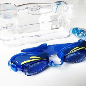 Kinder Schwimmbrille Test Swim Buddy Dolphin alle Inhalte ausgepackt