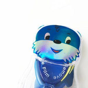 Kinder Schwimmbrille Test Swim Buddy Dolphin lustiger Bär