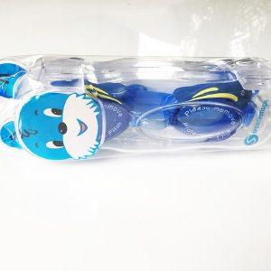 Kinder Schwimmbrille Test Swim Buddy Dolphin verpackt