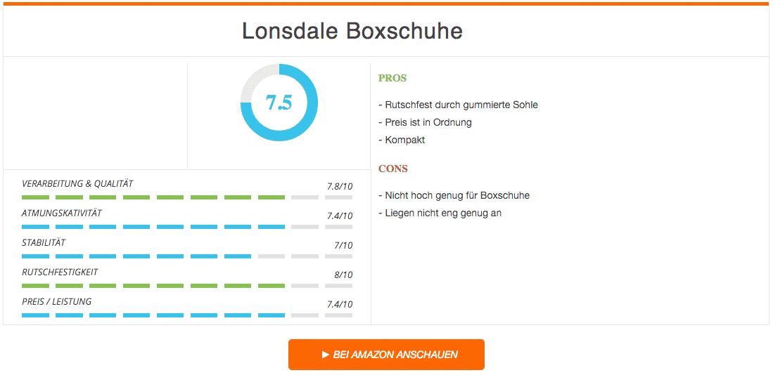 Lonsdale Boxschuhe Ergebnis