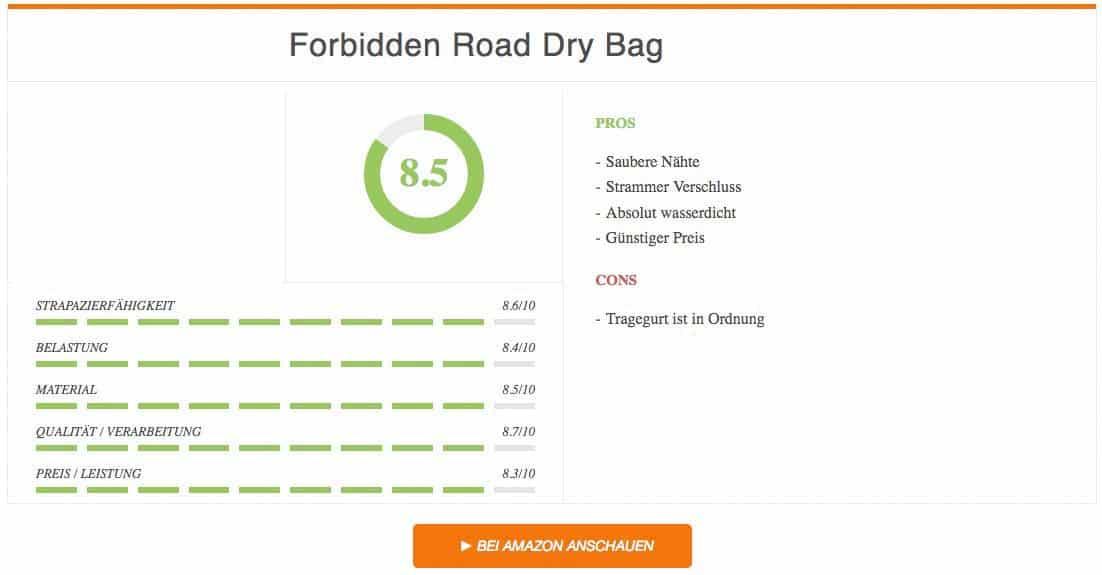 Ergebnis zur Forbidden Road Dry Bag