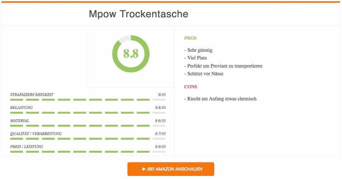 Ergebnis zur Mpow Trockentasche