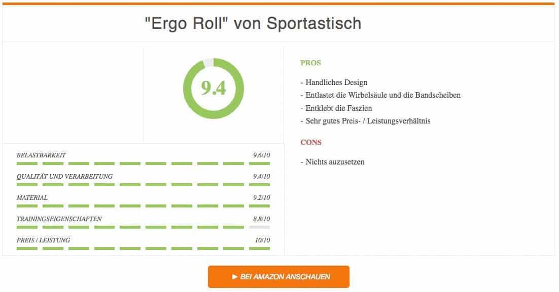 Ergebnis zur Ergo Roll von Sportastisch