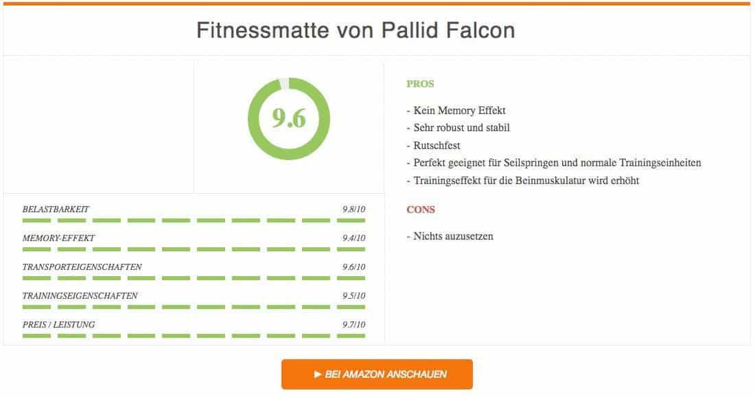 Ergebnis Fitnessmatte Test Pallid Falcon 3 Kopie