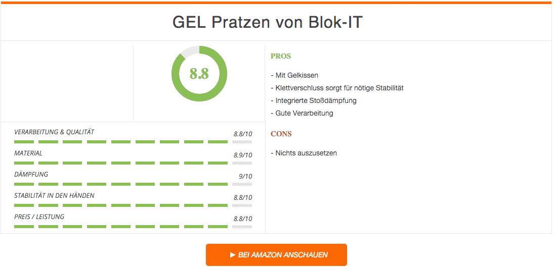 Gel Pratzen Blok it Ergebnis