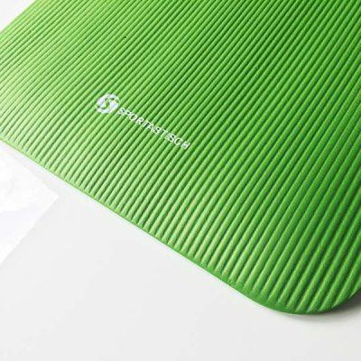 Die Oberfläche der Yoga Matte