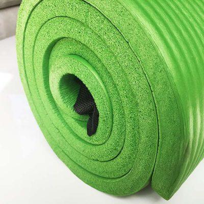 Der Querschnitt der Yoga Matte