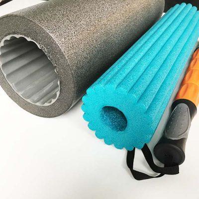 Faszienrolle Test Soft Roll Sportastisch Querschnitt