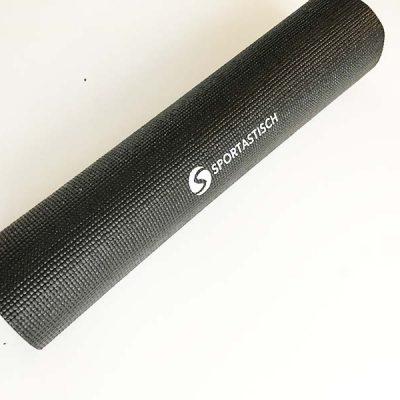 So sieht die Yogamatte ausgepackt in der Gesamtansicht aus